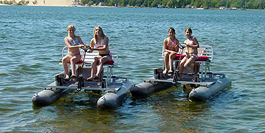 Paddle Boats1 Wave Club Water Sports